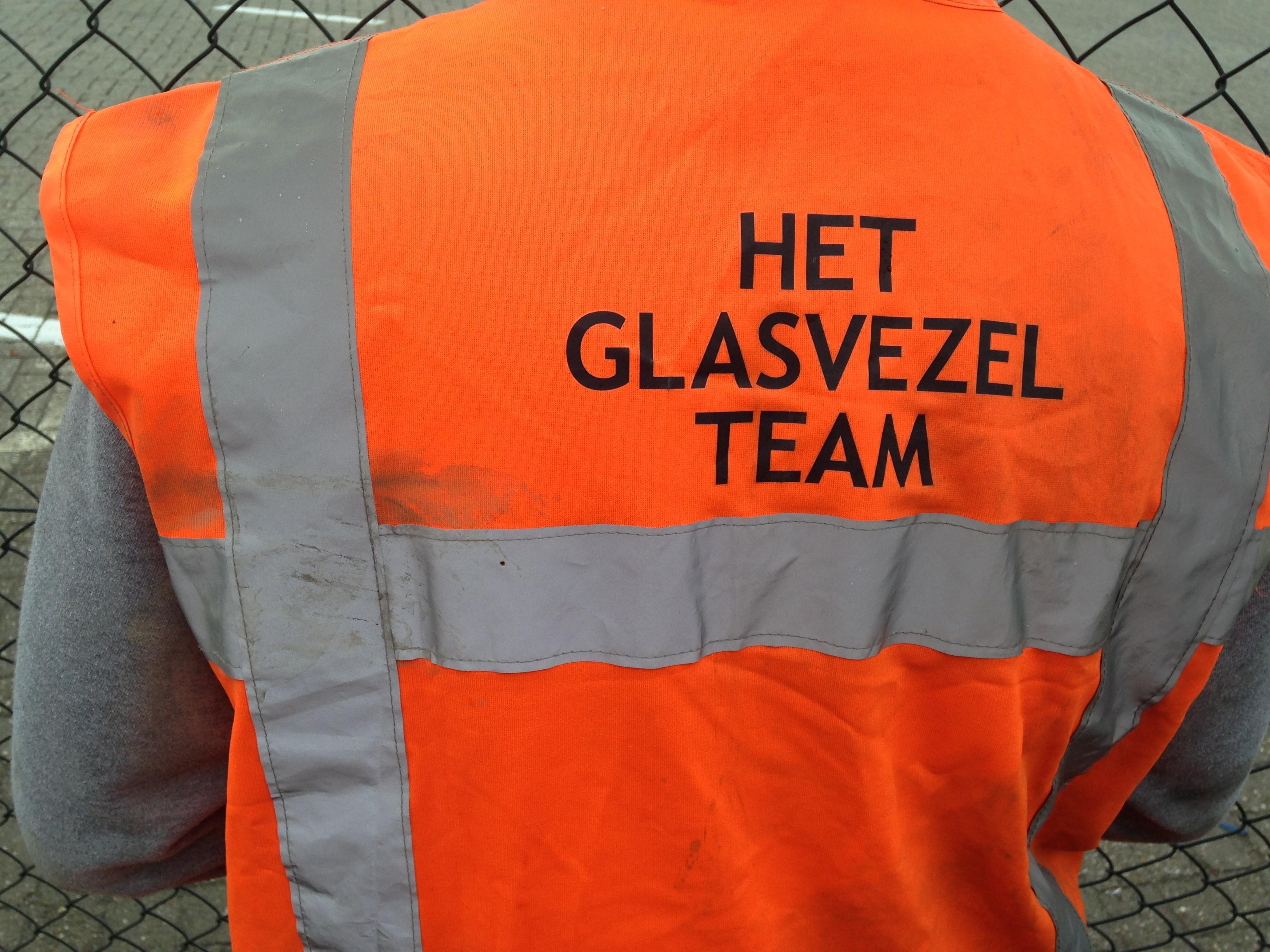 aanleg glasvezelbekabeling